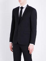 Sandro Regular-fit notch-lapel pure-wool jacket
