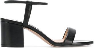 Gianvito Rossi Block Heel Sandals