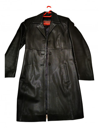 Oakwood Black Leather Coats