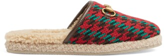 Gucci Women's Houndstooth slipper