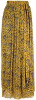 Etoile Isabel Marant floral chiffon skirt - women - Silk/Viscose - 40