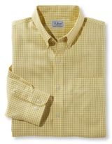 L.L. Bean Wrinkle-Free Check Shirt, Slightly Fitted