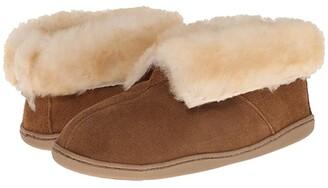 Minnetonka Sheepskin Ankle Boot (Golden Tan) Women's Shoes