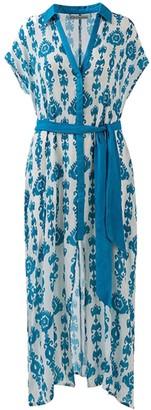 Ada Kamara Robe Dress In Blue