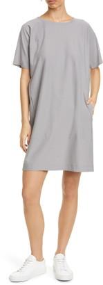 Eileen Fisher Round Neck T-Shirt Dress