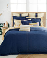 Tommy Hilfiger Herringbone Stripe European Sham Bedding