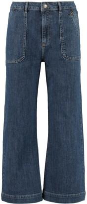 ALEXACHUNG Culotte Jeans