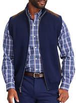 Chaps Full Zip Sweater Vest