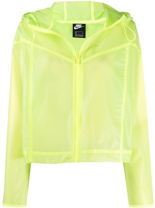Nike Windrunner transparent jacket