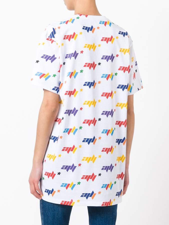 Au Jour Le Jour all over print T-shirt