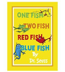 Harper Collins One Fish Two Fish Red Fish Blue Fish