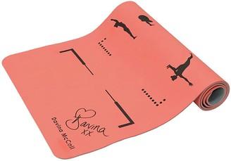 Davina Mccall Davina TPE Printed Yoga Mat - Orange