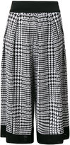 Balmain Prince of Wales checked culottes - women - Viscose - 36