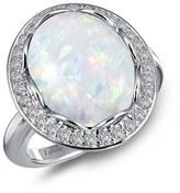 Lafonn Simulated Opal Halo Ring
