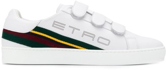 Etro Striped Panel Low-Top Sneakers