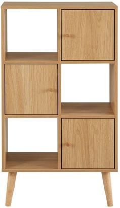 Monty 2 x3 Storage Unit - Oak Effect
