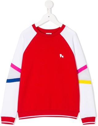 Karl Lagerfeld Paris Bauhaus colour-block sweatshirt