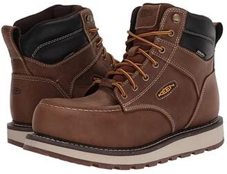 Keen Cincinnati 6 Carbon Fiber Toe Waterproof (Belgian/Sandshell) Men's Work Boots
