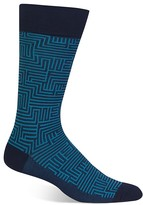 Hot Sox Maze Socks