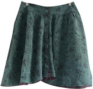 Zadig & Voltaire Spring Summer 2019 Green Silk Skirt for Women