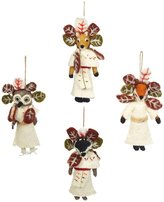 Cody Foster & Co Woodland Chief Ornament Set