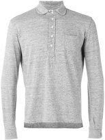 Doppiaa - long-sleeve polo shirt - men - Cotton/Polyester/Viscose - XXL