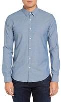 Theory Men's Zack Ps Terrigal Trim Fit Sport Shirt