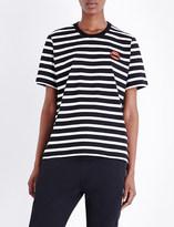 Markus Lupfer Lara Lip striped cotton-jersey t-shirt