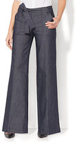 New York & Co. 7th Avenue Pant - Wide-Leg - Modern - Grand Sapphire