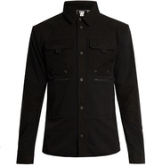 7l Mid-layer Contrast-panel Overshirt