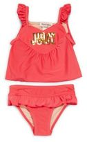 Juicy Couture Baby's Sequined Two-Piece Swimsuit
