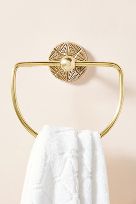 Anthropologie Graham Towel Ring By in Brown Size ALL
