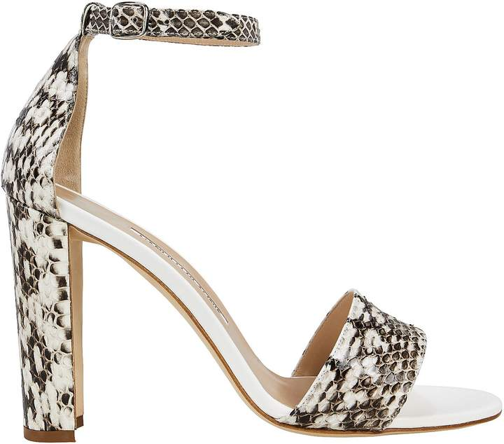 Manolo Blahnik Lauratopri Block Heel Sandals