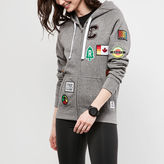 Roots Womens Patches Original Full Zip Hoody