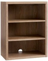 Pottery Barn Kids Charlie Bookcase Cubby, Water-Based Smoked Gray
