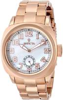 Invicta Women's 12068 Vintage Analog Display Japanese Quartz Rose Gold Watch