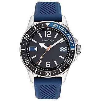 Nautica Men's NAPFRB920 Freeboard Silicone Strap Watch