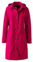 Classic Women's Plus Size Coastal Rain Coat-Beige Brown