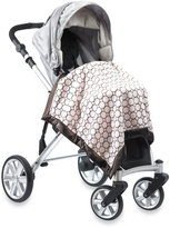 Swaddle Designs Stroller Blanket With Brown Mod Circles