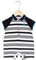 Armani Junior Boys' Striped Polo All-In-One