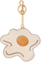Anya Hindmarch Egg Leather Keychain - White