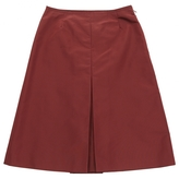 Prada Mid-Length Silk Skirt