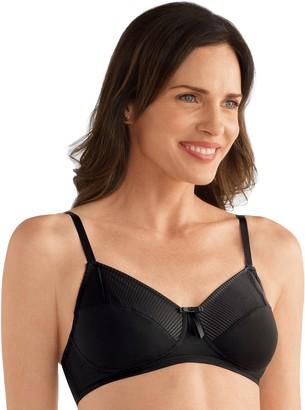 Mila Louise Women's Amoena Wireless Mastectomy Bra 44430