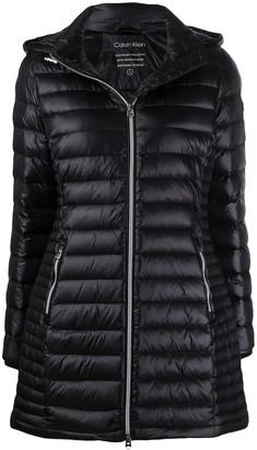 Calvin Klein Zipped Padded Coat