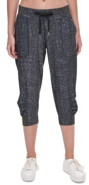 Calvin Klein Camo Cropped Cargo Pants