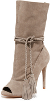 Schutz Jaime Open Toe Booties