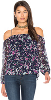 Greylin Taylor Cold Shoulder Top