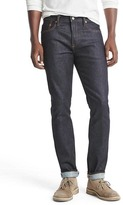 Gap STRETCH selvedge skinny fit jeans