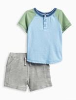 Splendid Baby Boy Baseball Tee Short Set