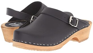 Mia Alma (Black) Women's Clog Shoes